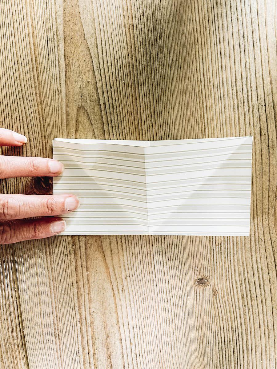 Origami Rectangle Fold Instructions