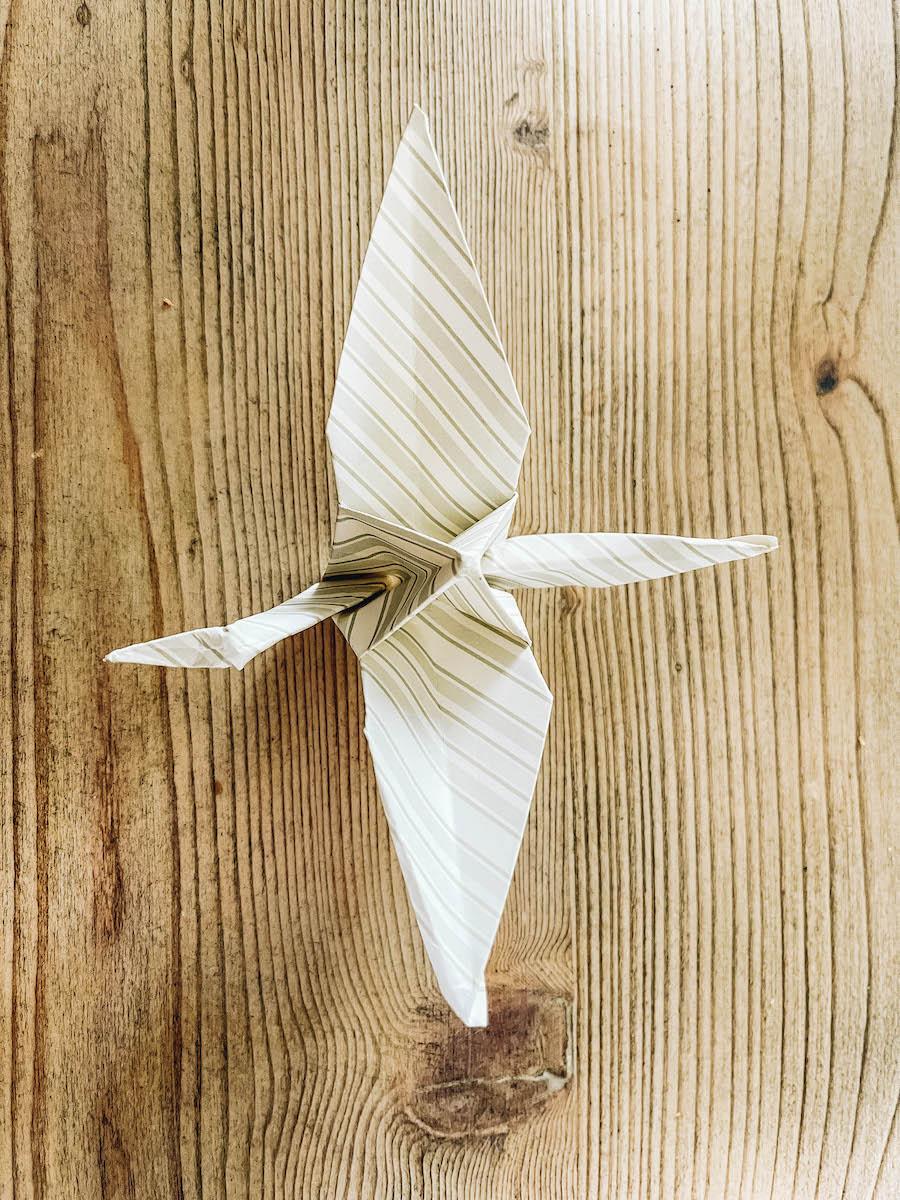 Finished Origami Crane