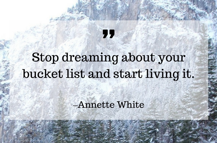 Image result for quotes about bucket lists