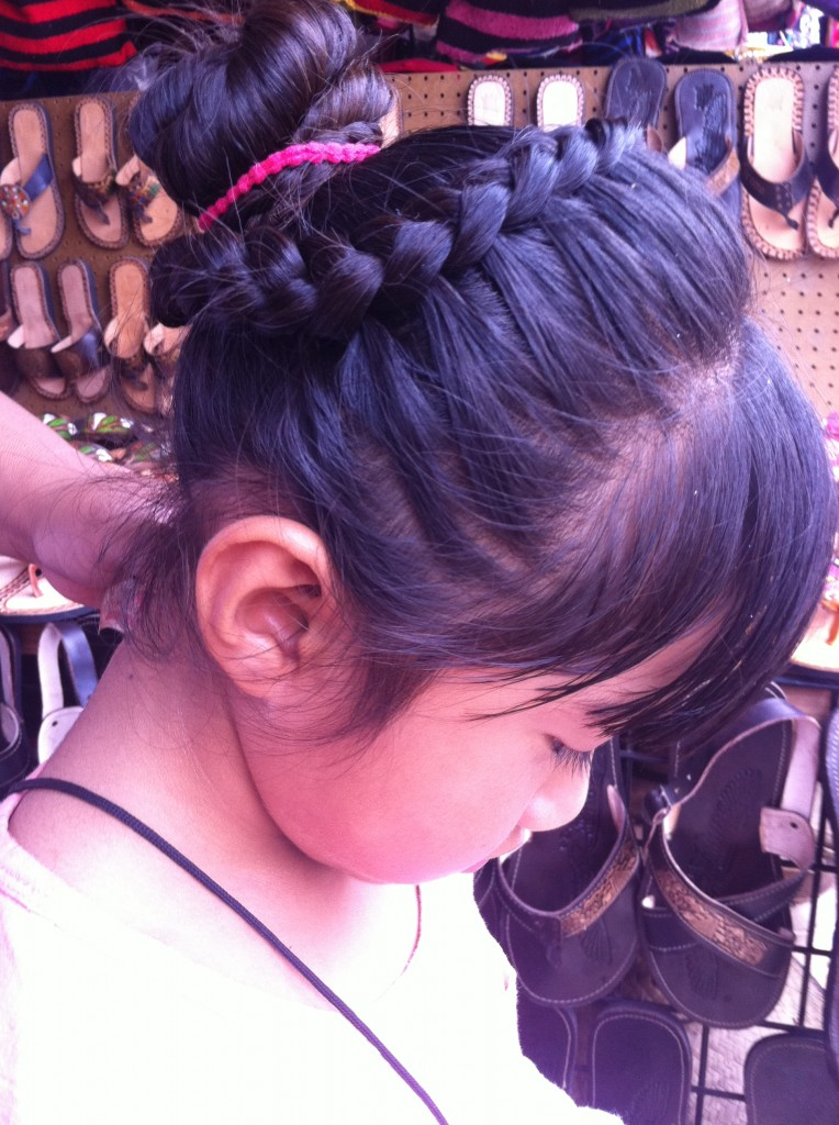 hair french braids
