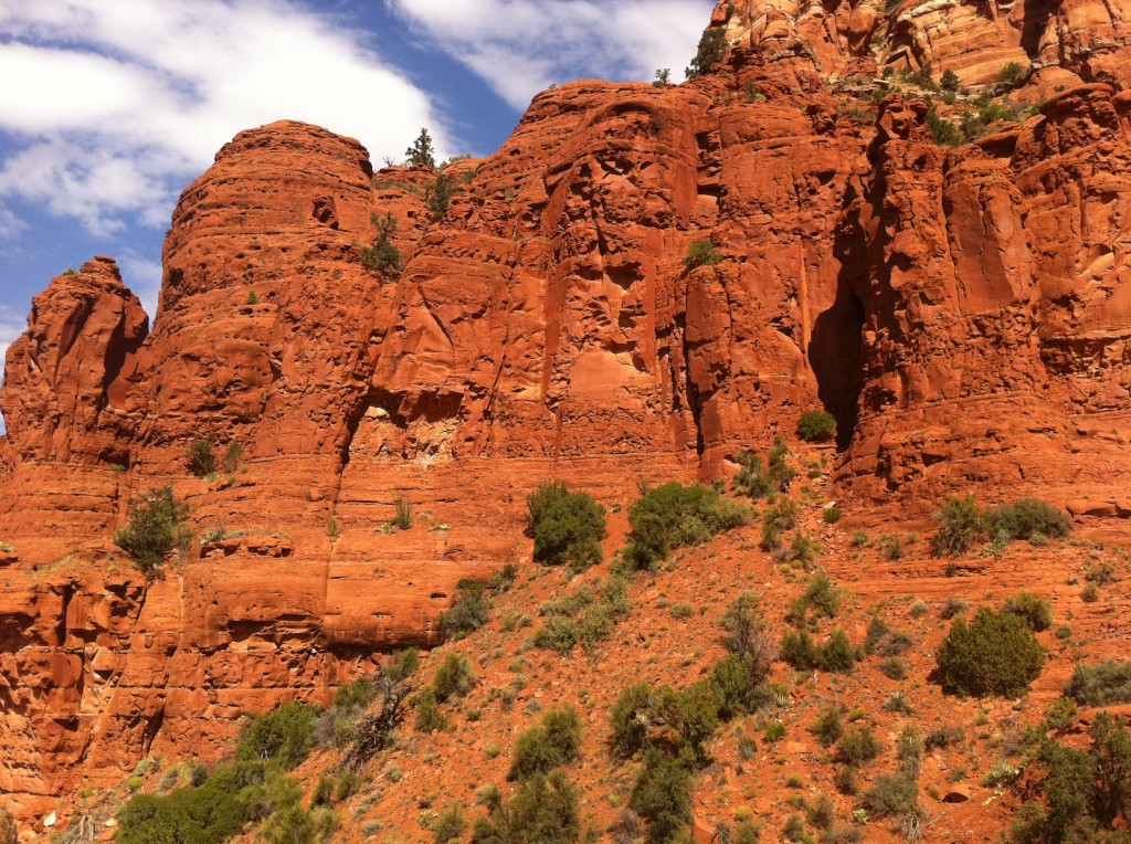 Red Rock View at Sedona Chapel of the Holy Cross