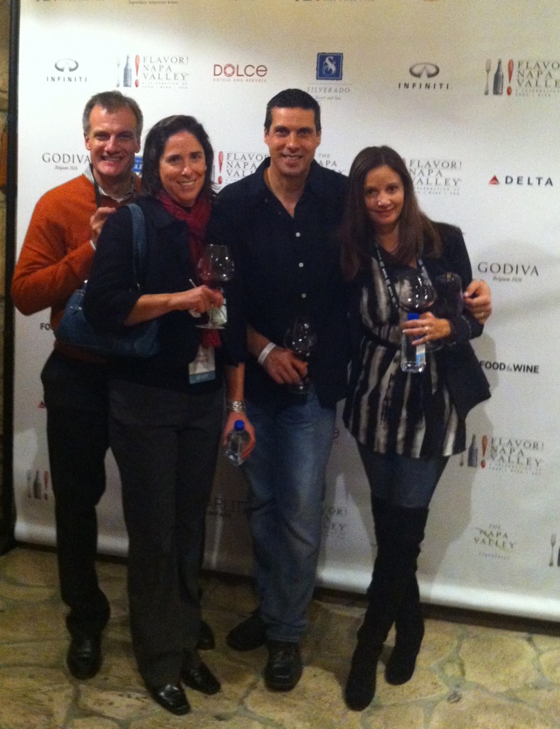 Annette White at Napa Valley Flavor Event