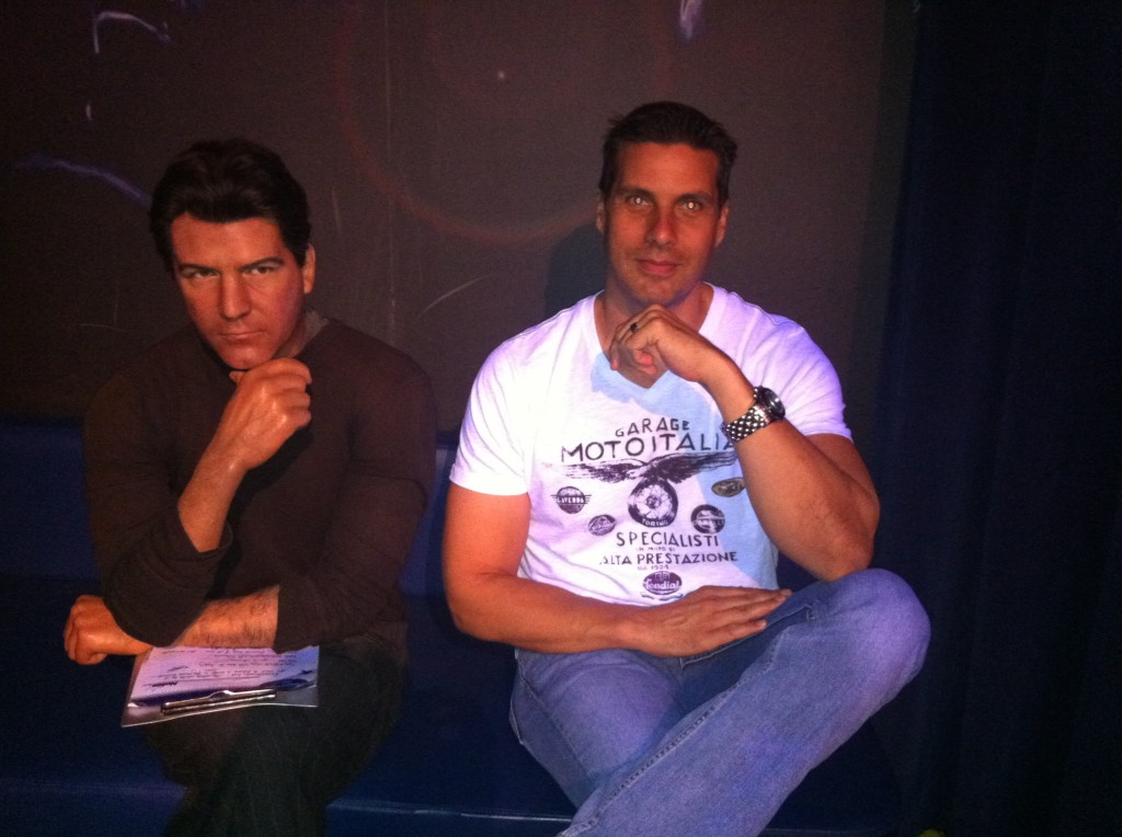 Simon Cowell at Madame Tussauds