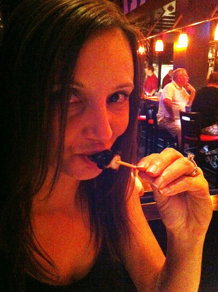 eating octopus Annette White