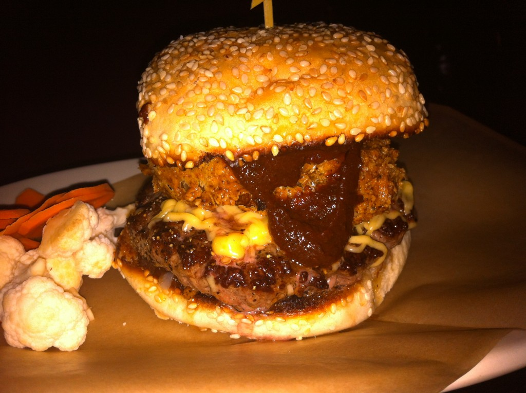 BBQ Burger at Esquire Tavern