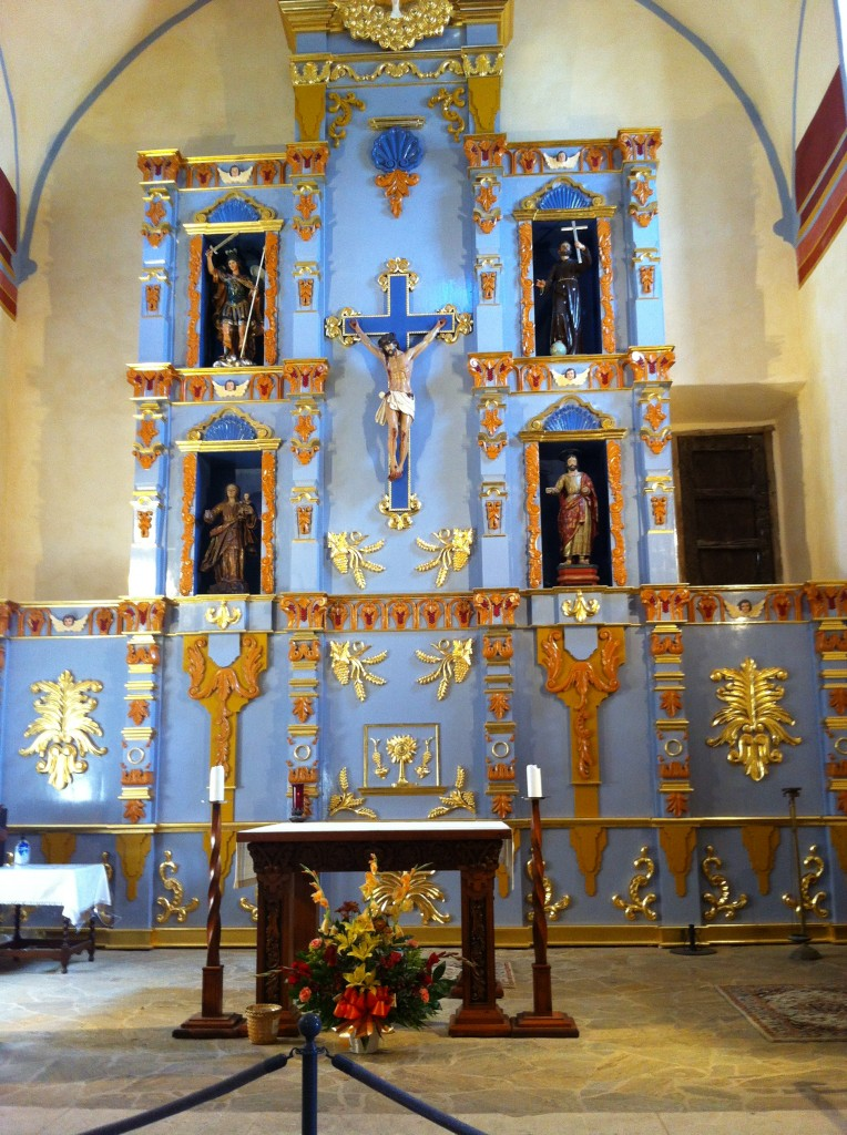 Church at Mission San Jose