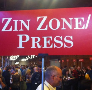 Zin Zone at the Wine Festival