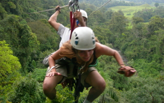Annette White Zipline in Costa Rica