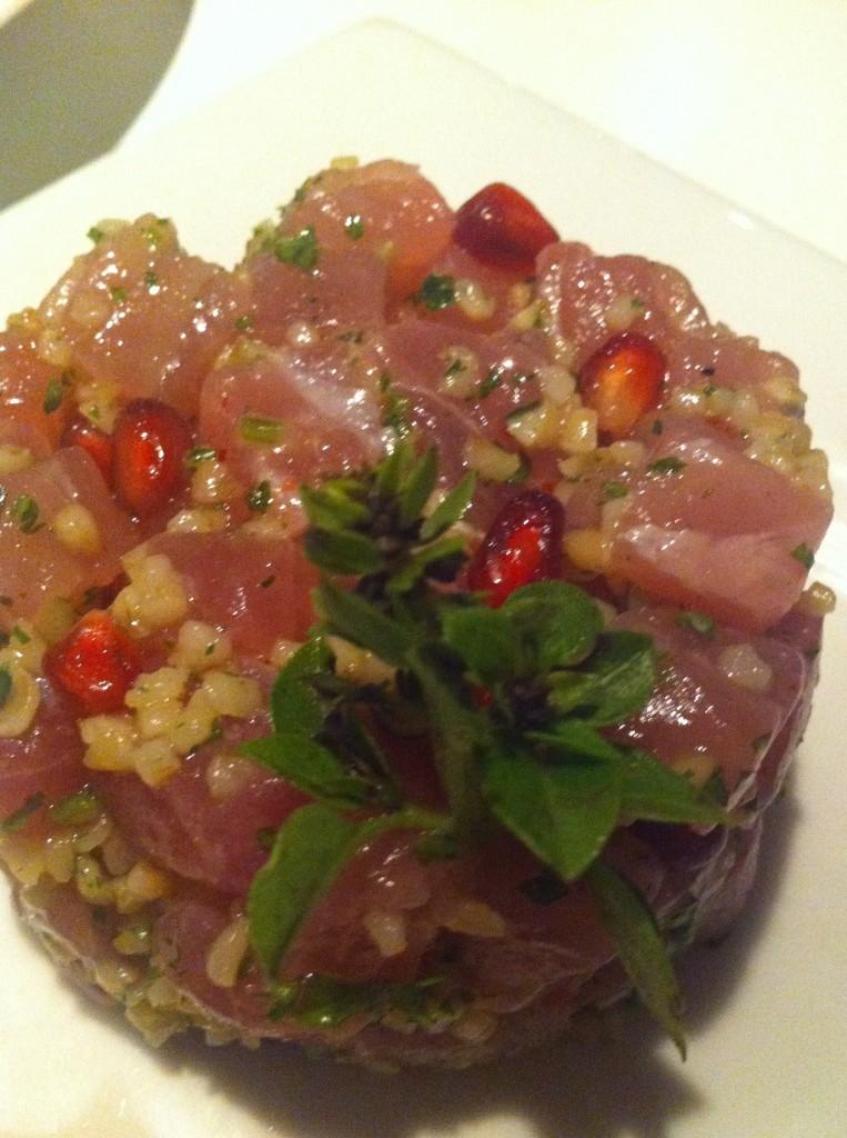 Ahi Tuna Tartar at Feast