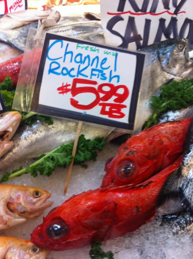 Fish at Pike Place Fish Market