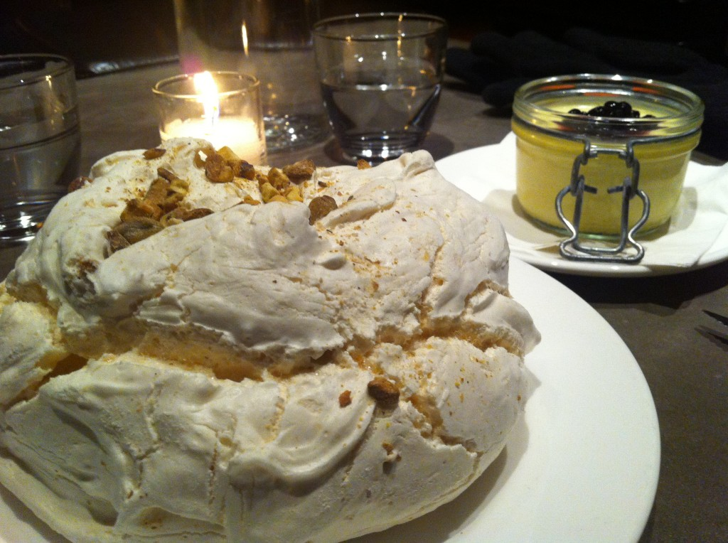 Meringue at Marche
