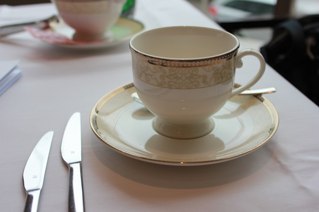 Tea cup at Afternoon Tea in London