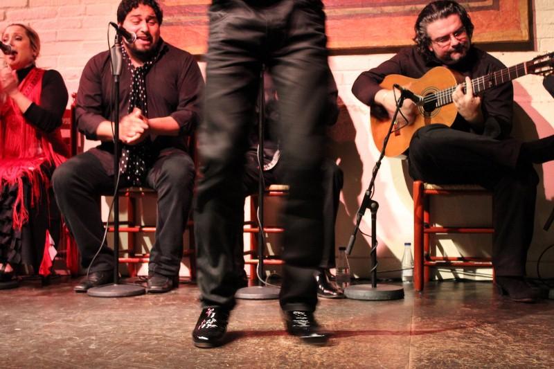 Flamenco Footwork at El Tablao de carmen