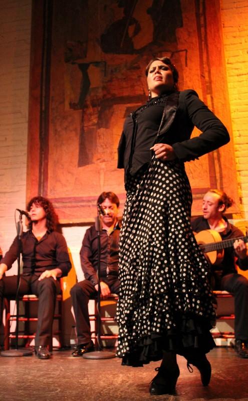 the flamenco dance at El Tablao de carmen