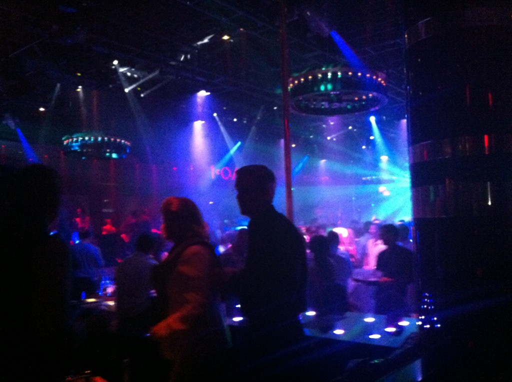 1 Oak Nightclub in Las Vegas