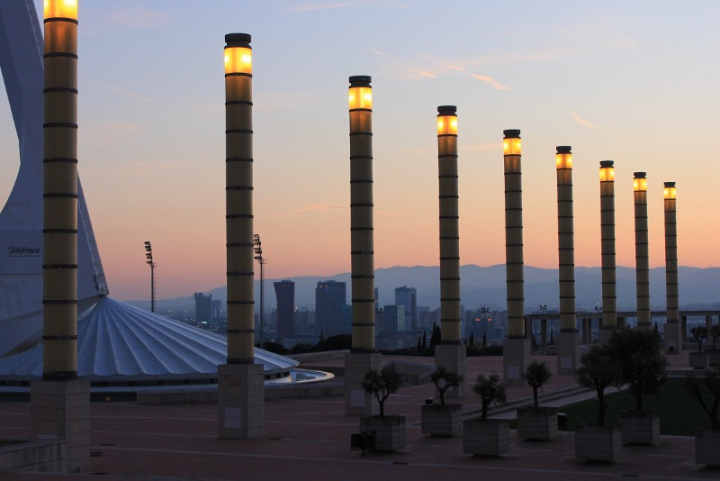 Olympic Stadium at Montjuic