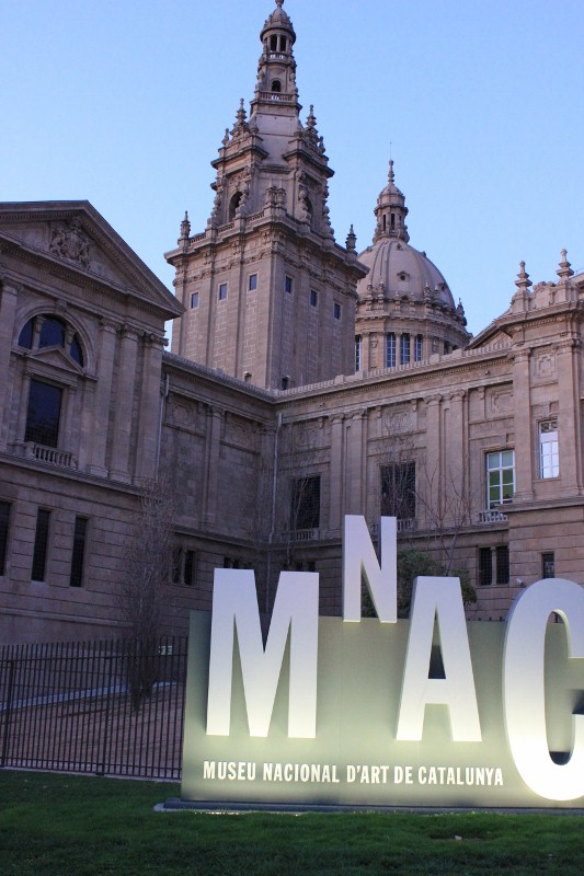 MNAC at Montjuic