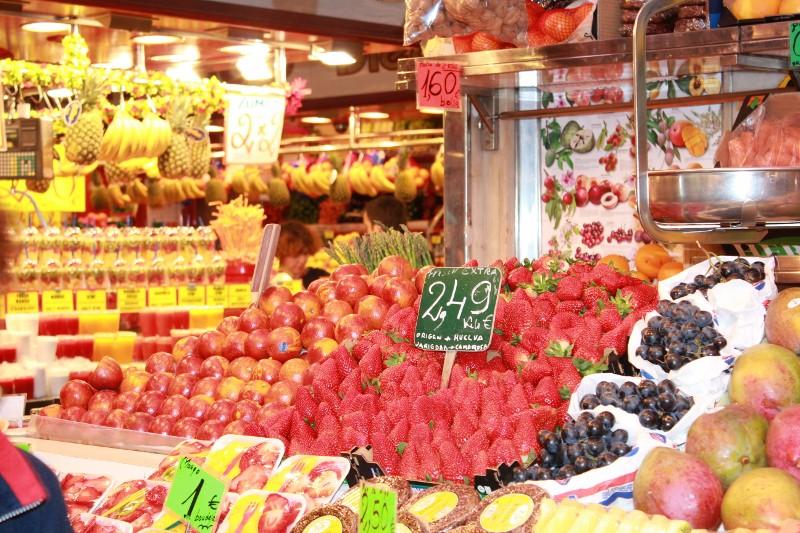 Fruit at La Boqueria Market