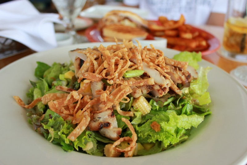 Chicken Salad at Hali'imaile Maui