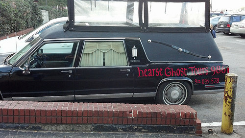 Things to do in Savannah: Take a Hearse Ghost Tour