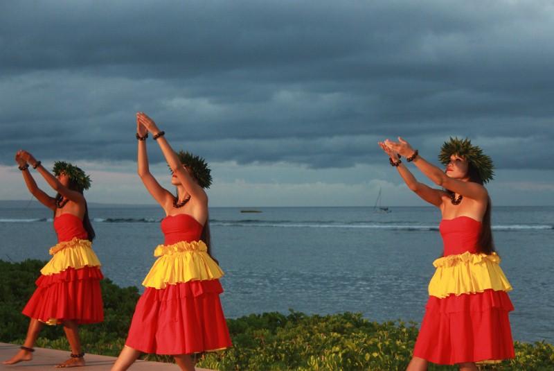 Hula at the Luau