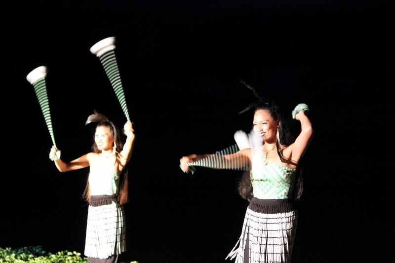 Poi Ball Dance at Luau