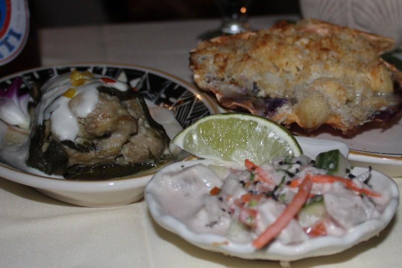 Tahitian Meal at Luau