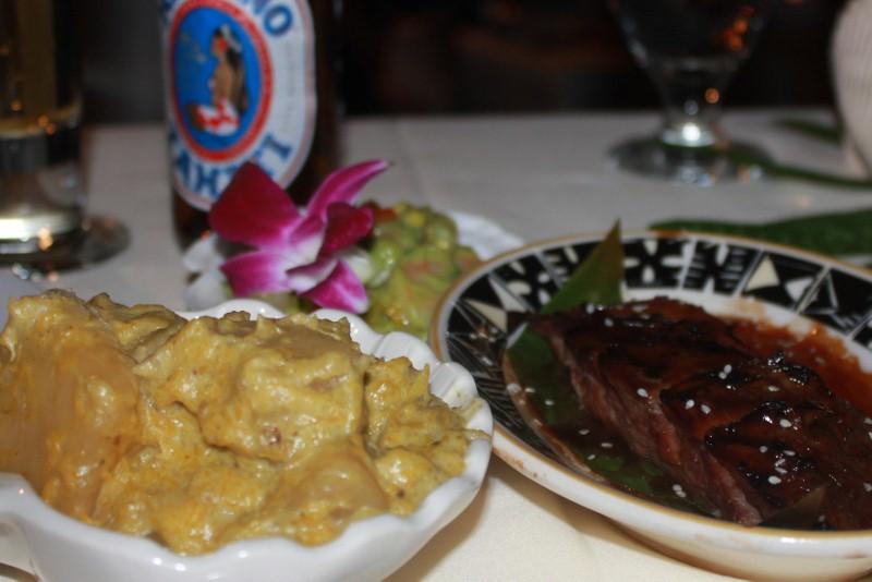 Samoan Meal at the Luau