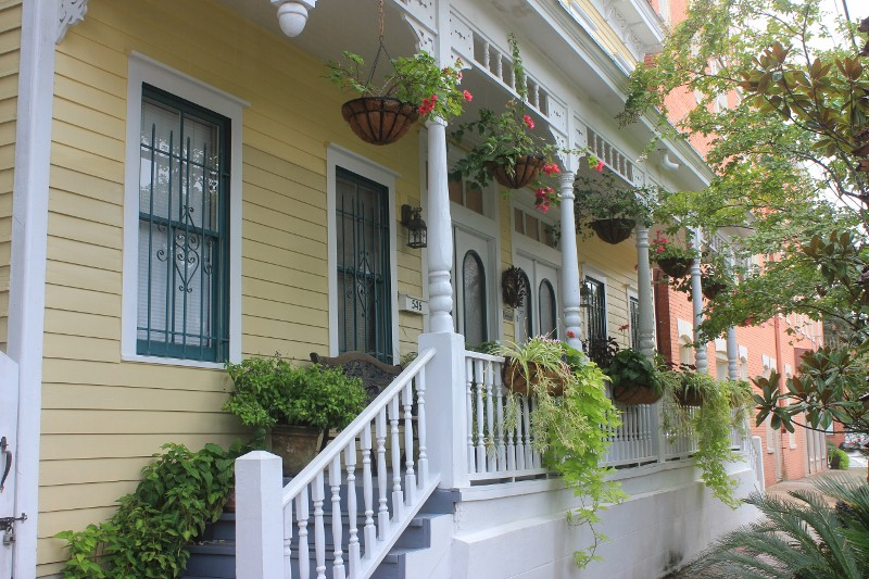 Savannah Bed & Breakfast: Green Palm Inn in Savannah