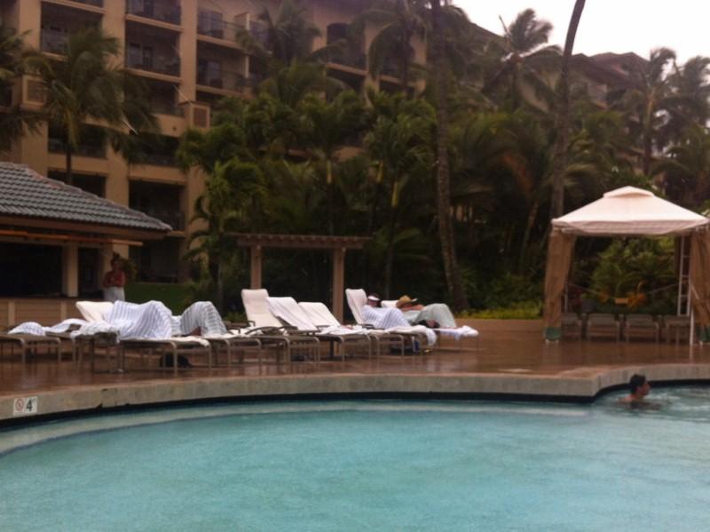 Rain at the Ritz in Kapalua
