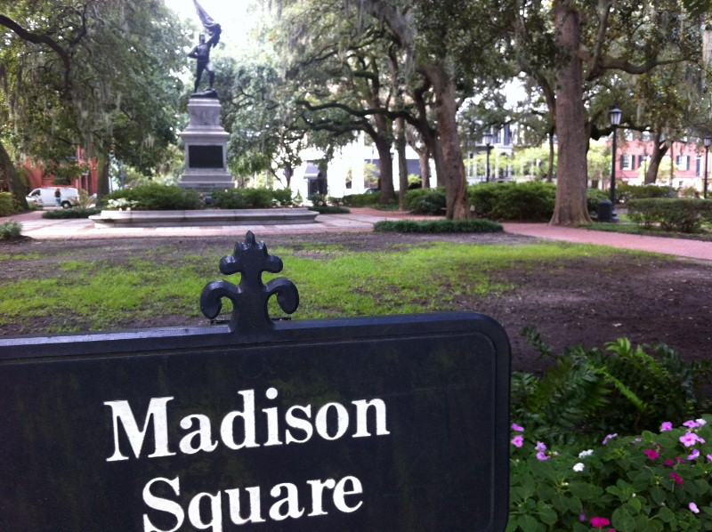 Things to do in Savannah: Stroll through the Squares