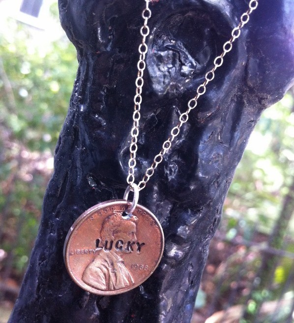 Lucky Penny Necklace from SCAD