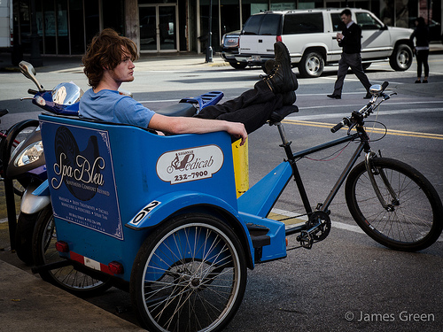 Savannah Things to Do: Take a Pedicab