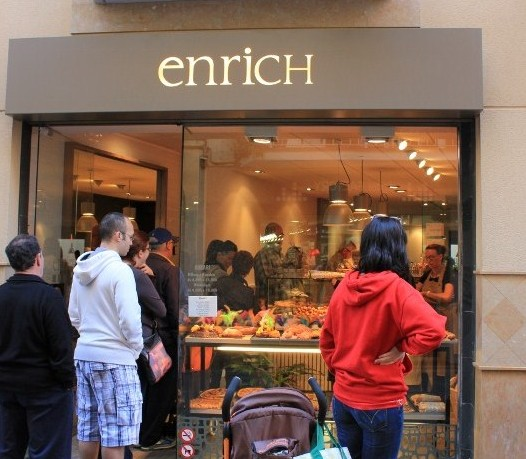 Enrich Bakery in Sitges