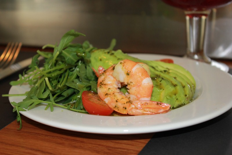 Shrimp Salad at Taller de Tapas