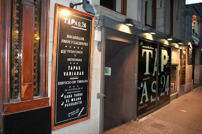 Tapas Restaurant Front