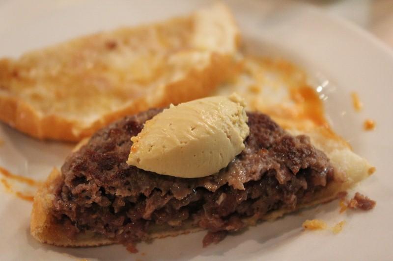 Foie Gras Burger Tapa
