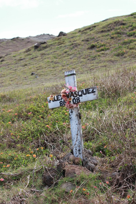 Cross at Nakalele Blowhole