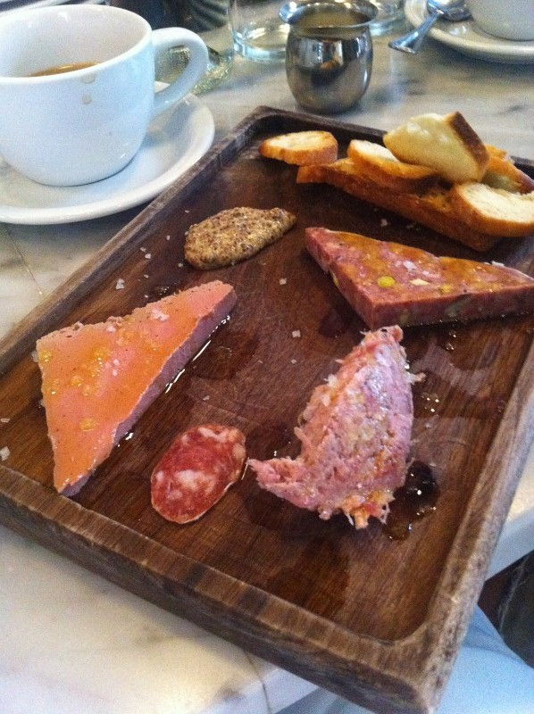 Charcuterie Board at Salami Shop