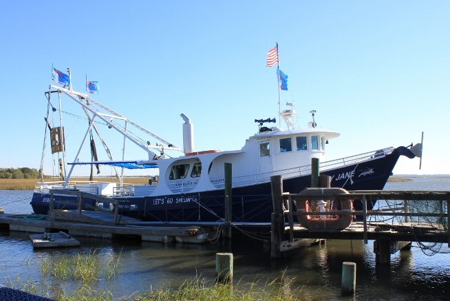 Lady Jane Shrimping Boat