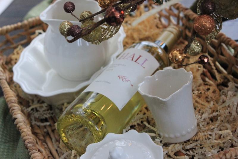 Wine Basket Underneath