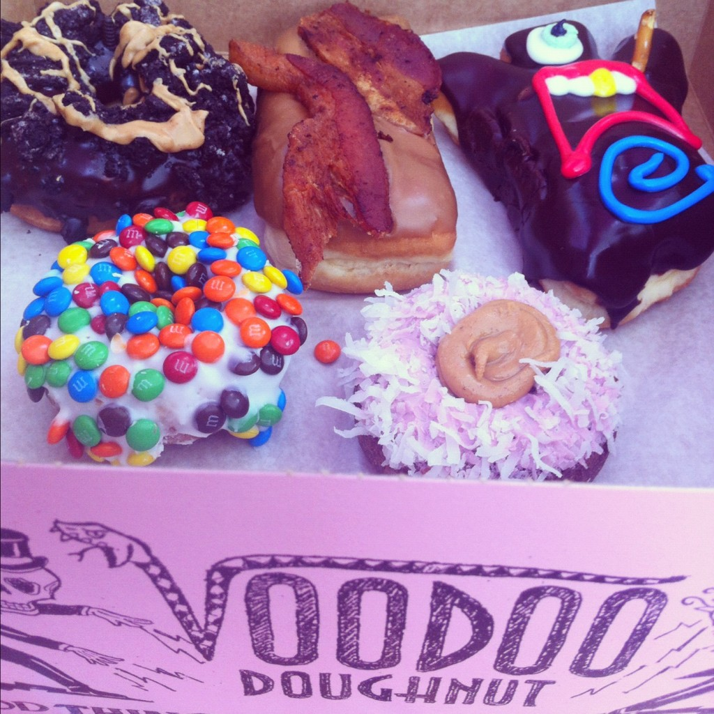 Voodoo Doughnuts Selection