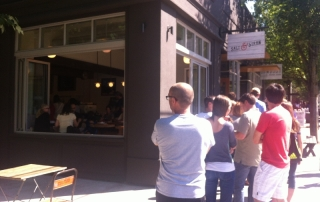 Ice Cream Line at Salt & Straw