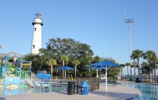 St. Simons Lighthouse from Community Center