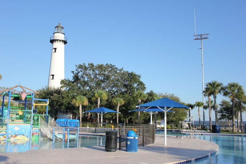St. Simons Lighthouse from Community Center