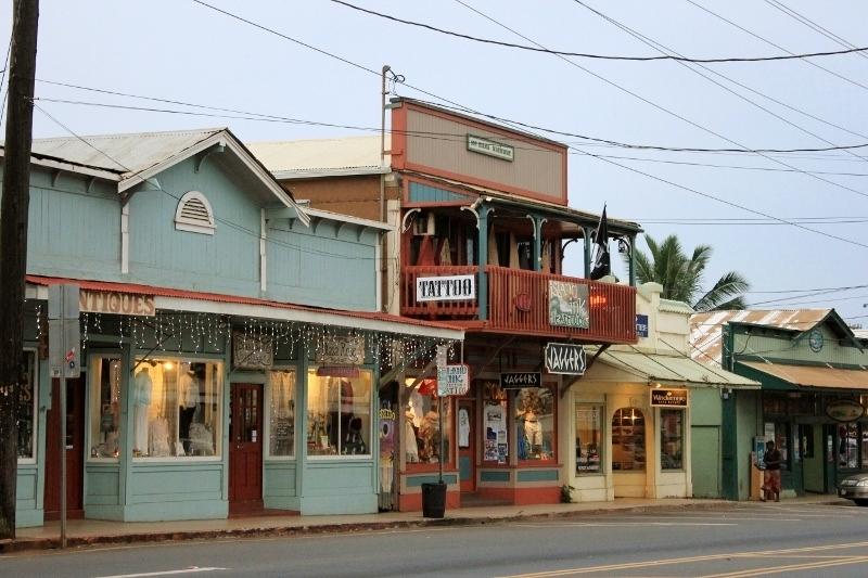 Downtown Paia Maui