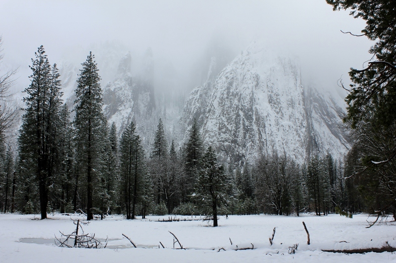 Yosemite Valley at Christmas
