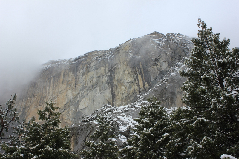 Half Dome in Yosemite Valley