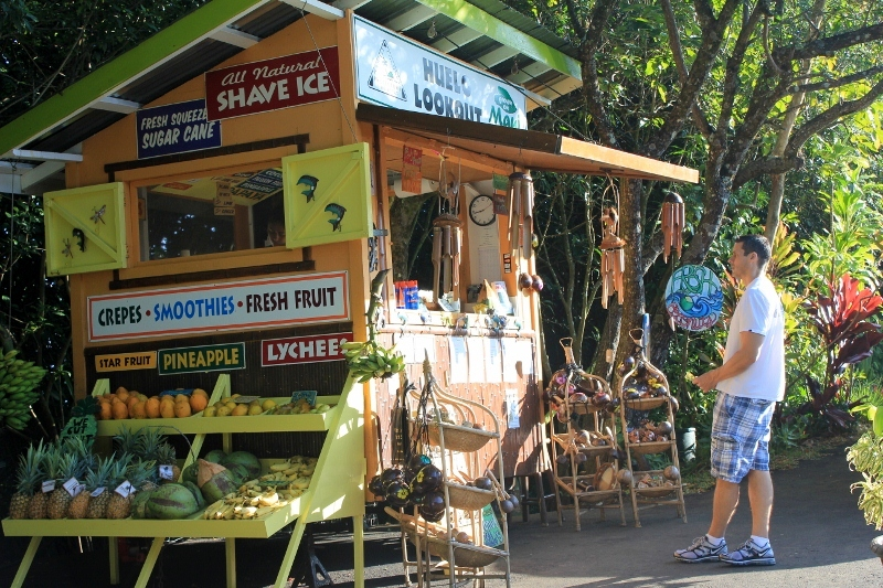 Huelo Lookout Fruit Stand: One of the Best Road to Hana Stops on the Hawaiian Island of Maui