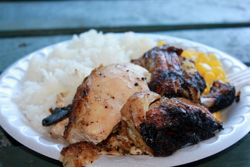 Ka Haku Smoke Shack Chicken Plate